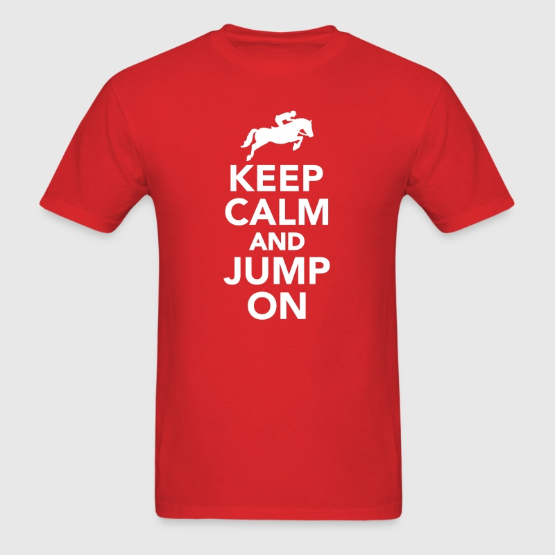Show jumping - Men's T-Shirt