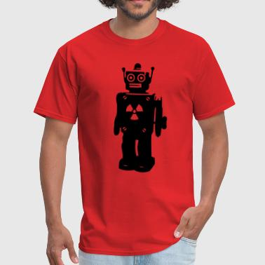 robot nerd geek - Men's T-Shirt