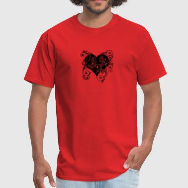 HEARTS ON FIRE - Men's T-Shirt