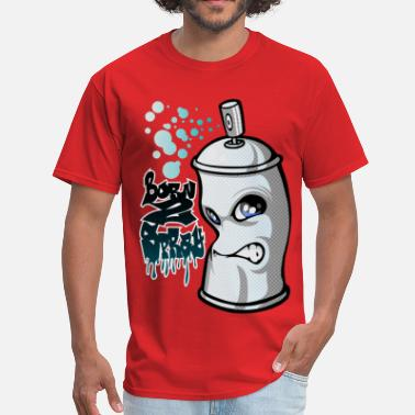 Graffiti Spray Spray and graffiti - Men's T-Shirt