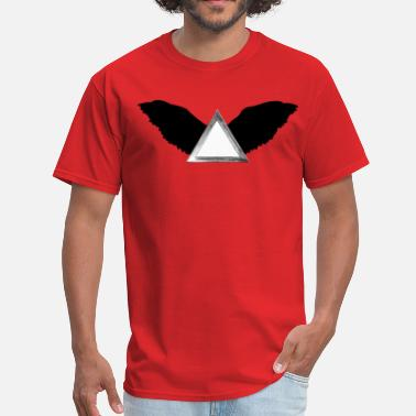 Wing Design winged triangle designer graphic - Men's T-Shirt