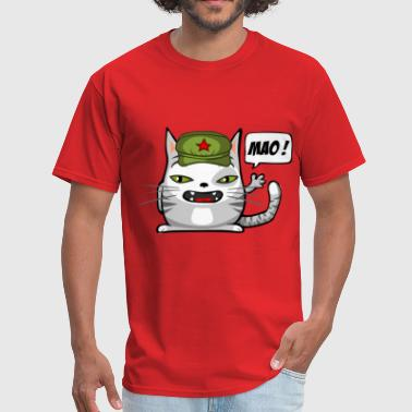 Communist cat - Men's T-Shirt