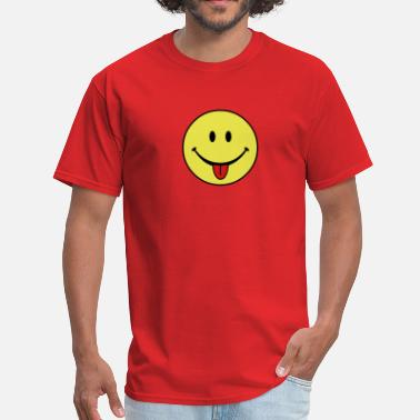 Out smiley - Men's T-Shirt