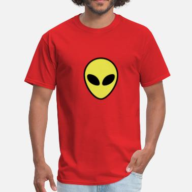 Alien Face Alien - Men's T-Shirt