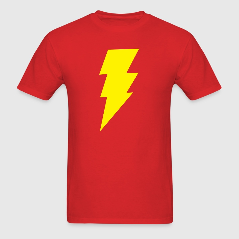 Big Bang Theory Lightning Bolt - Men's T-Shirt