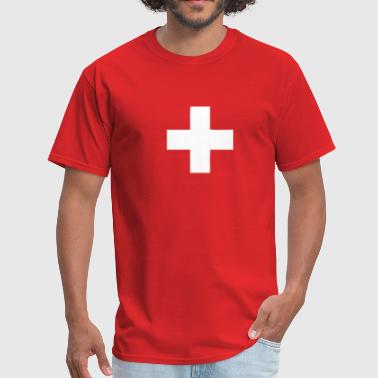 Switzerland - Swiss Cross - Men's T-Shirt