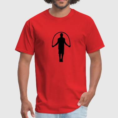 Jump rope - Men's T-Shirt