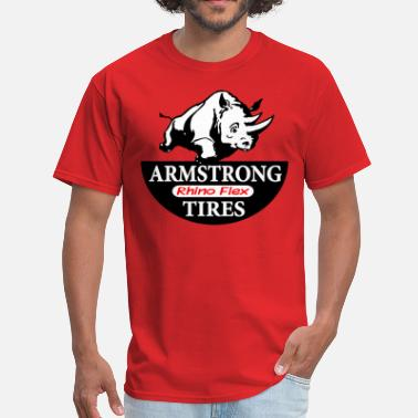 Lance Armstrong Tires - Men's T-Shirt