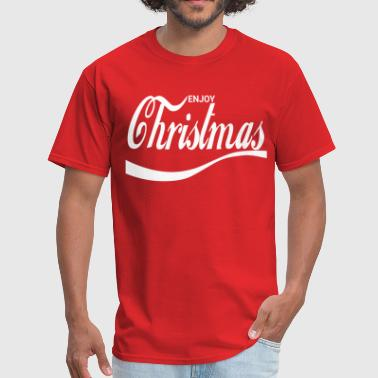 Enjoy Christmas - Men's T-Shirt