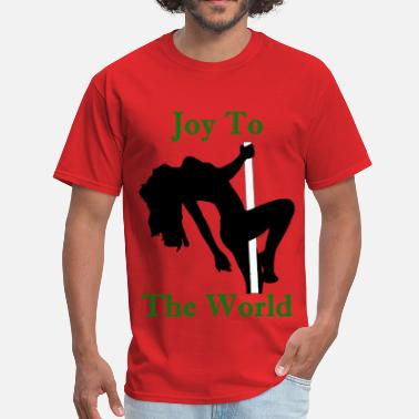 Joy To The World - Green - Men's T-Shirt