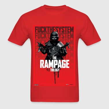 Rampage Trilogy - Special Limited Edition Red Tee - Men's T-Shirt