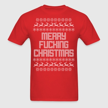 Merry F*cking Christmas - Men's T-Shirt