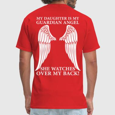 Wings My Daughter Is My Guardian Angel - Men's T-Shirt
