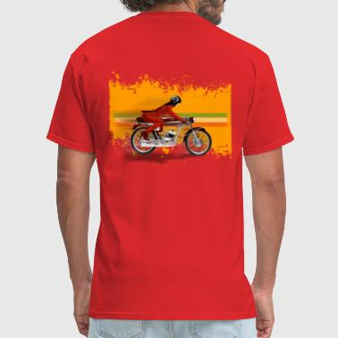 cafe racer girl - Men's T-Shirt