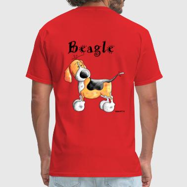 Happy Beagle Happy Beagle - Dog - Dogs - Men's T-Shirt