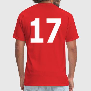 Team 17 Team letter seventeen 17 - Men's T-Shirt