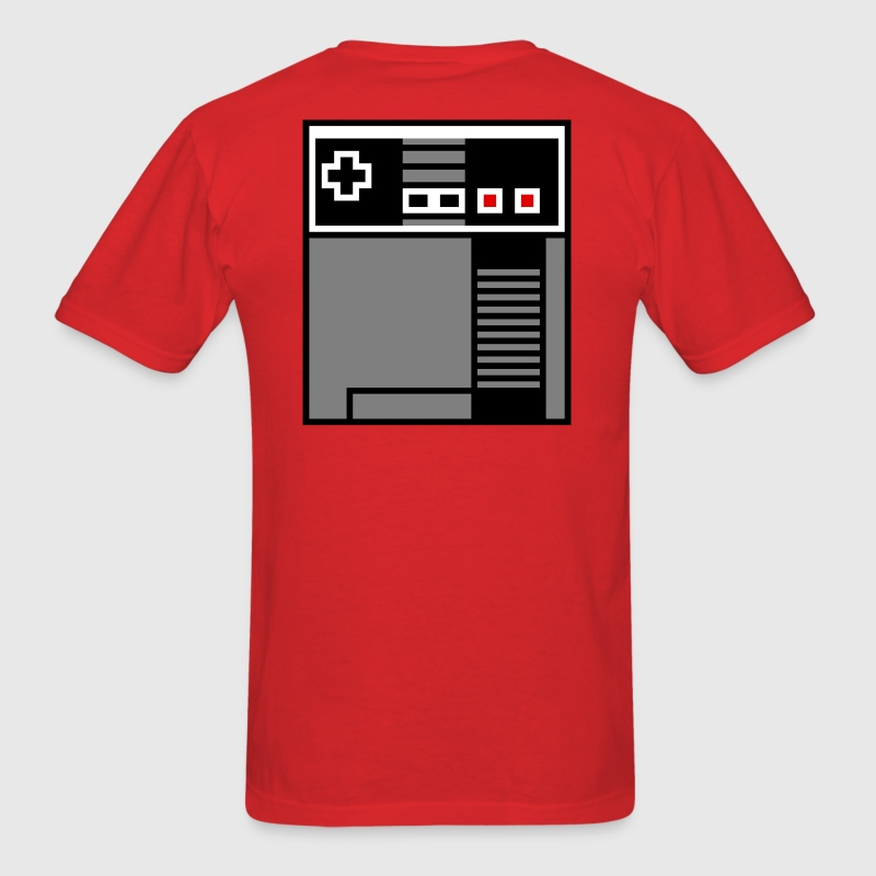 NES 8 bit pixel backpack - Men's T-Shirt