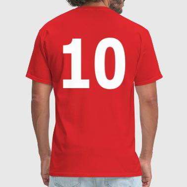 Team Ten Team letter ten 10 - Men's T-Shirt
