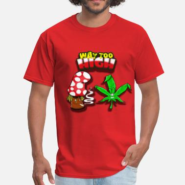 Moombahton Step One's Way Too High EP Shirt - Men's T-Shirt