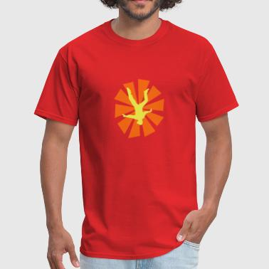 Freeflyer With Sun Rays - Men's T-Shirt