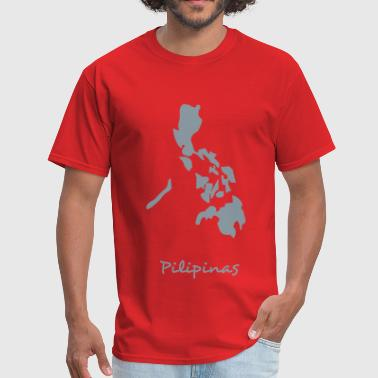 philippines map - Men's T-Shirt