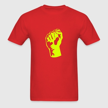 Raised Fist - Men's T-Shirt