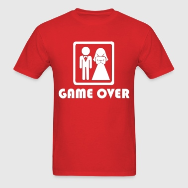 Marriage … Game over (2) - Men's T-Shirt