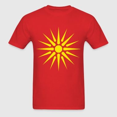 macedonian_flag - Men's T-Shirt