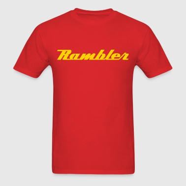 Rambler Script - Men's T-Shirt