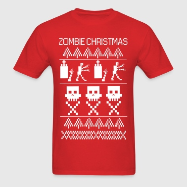 zombie christmas - Men's T-Shirt