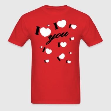 I love you valentine Valentine's Day - Men's T-Shirt