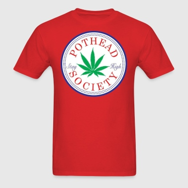 Pothead Society - Men's T-Shirt