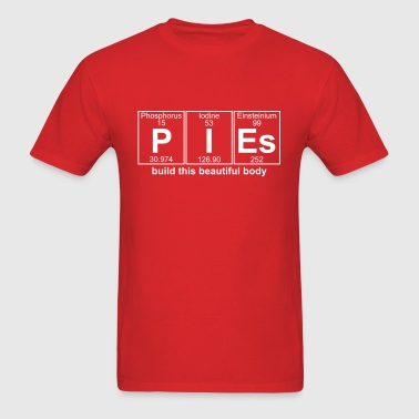 P-I-Es (pies) - Full - Men's T-Shirt