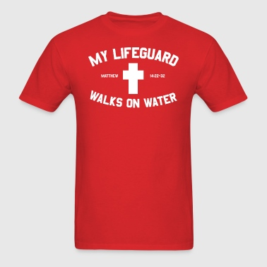 my lifeguard walk - Men's T-Shirt