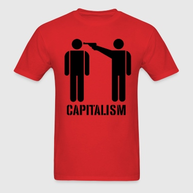 Capitalism Kills - Men's T-Shirt