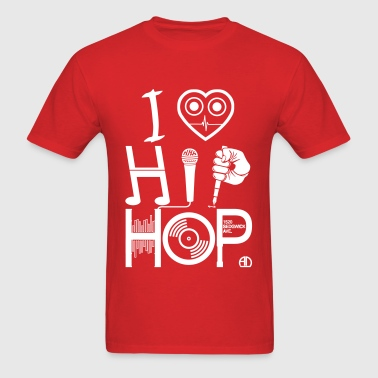 I Love HipHop Music - Men's T-Shirt