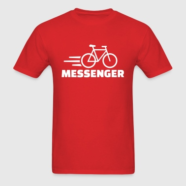 Bike messenger - Men's T-Shirt