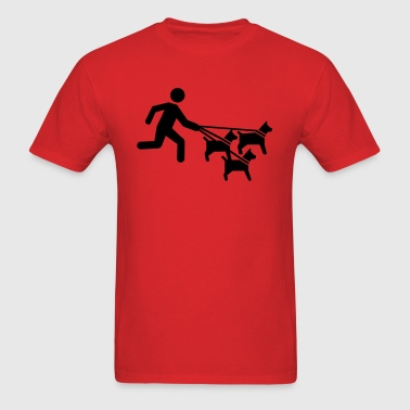 Dog sitter - Men's T-Shirt
