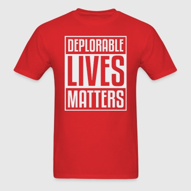 Doplorable Lives Matter - Men's T-Shirt