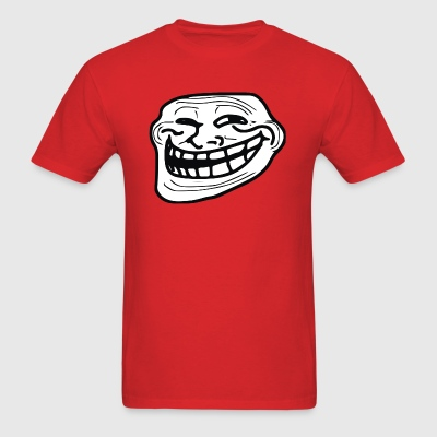 troll face - Men's T-Shirt