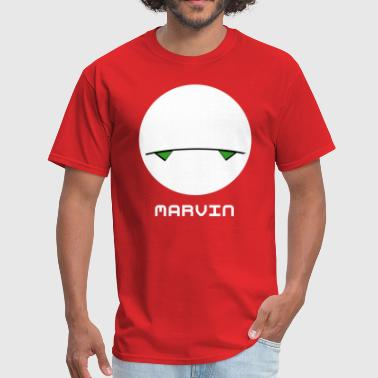 42 The Hitchhikers Guide To The Galaxy Marvin - Men's T-Shirt