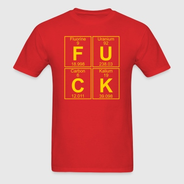 F-U-C-K (fuck) - Full - Men's T-Shirt