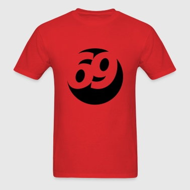 69 Ball - Men's T-Shirt