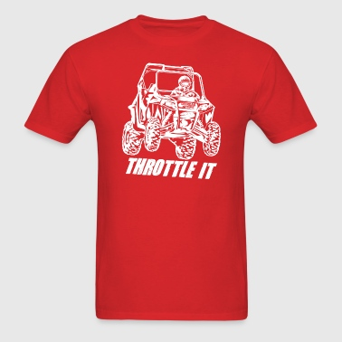 UTV Racer Throttle It - Men's T-Shirt