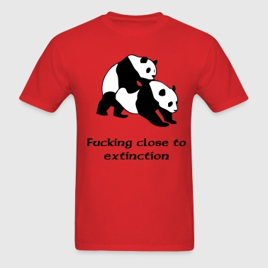 fucking close to extinction - Men's T-Shirt