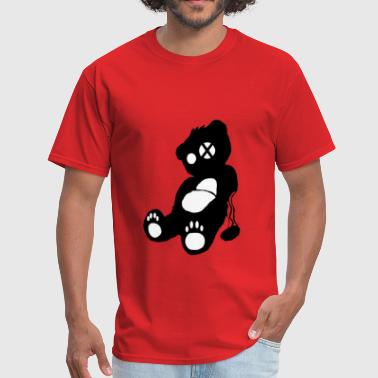 Silhouette Bear - Men's T-Shirt