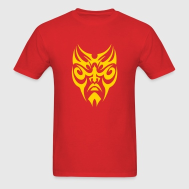 Tribal Face - Men's T-Shirt