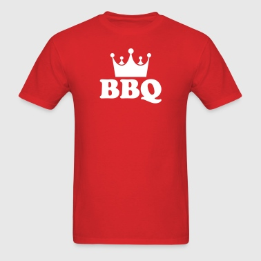 bbq barbecue king - Men's T-Shirt