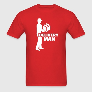 Delivery man - Men's T-Shirt