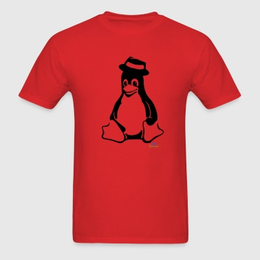 The shadow of the Penguin  - Men's T-Shirt